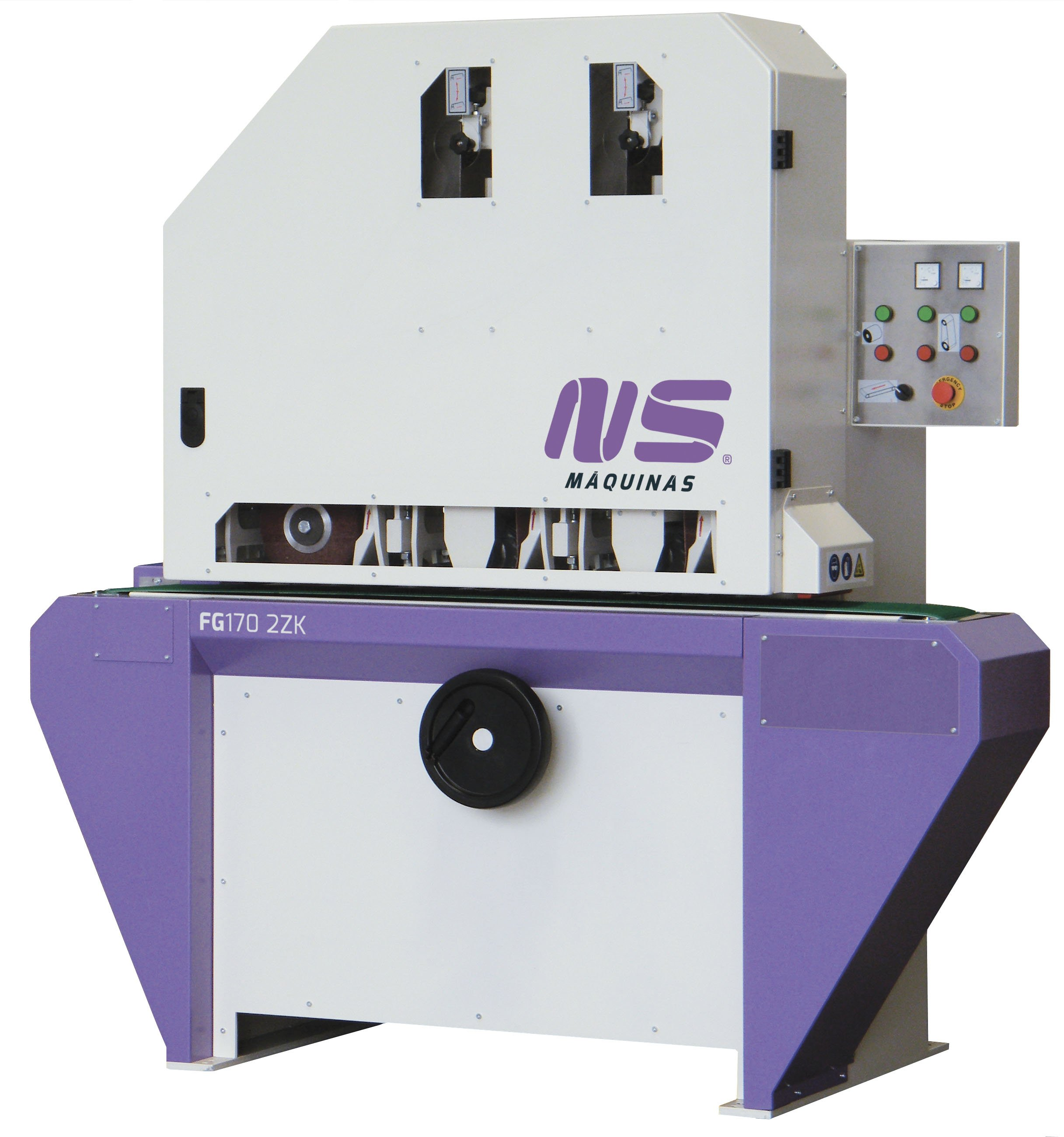 Flat Bar and Rectangular Finishing Machines - FG170