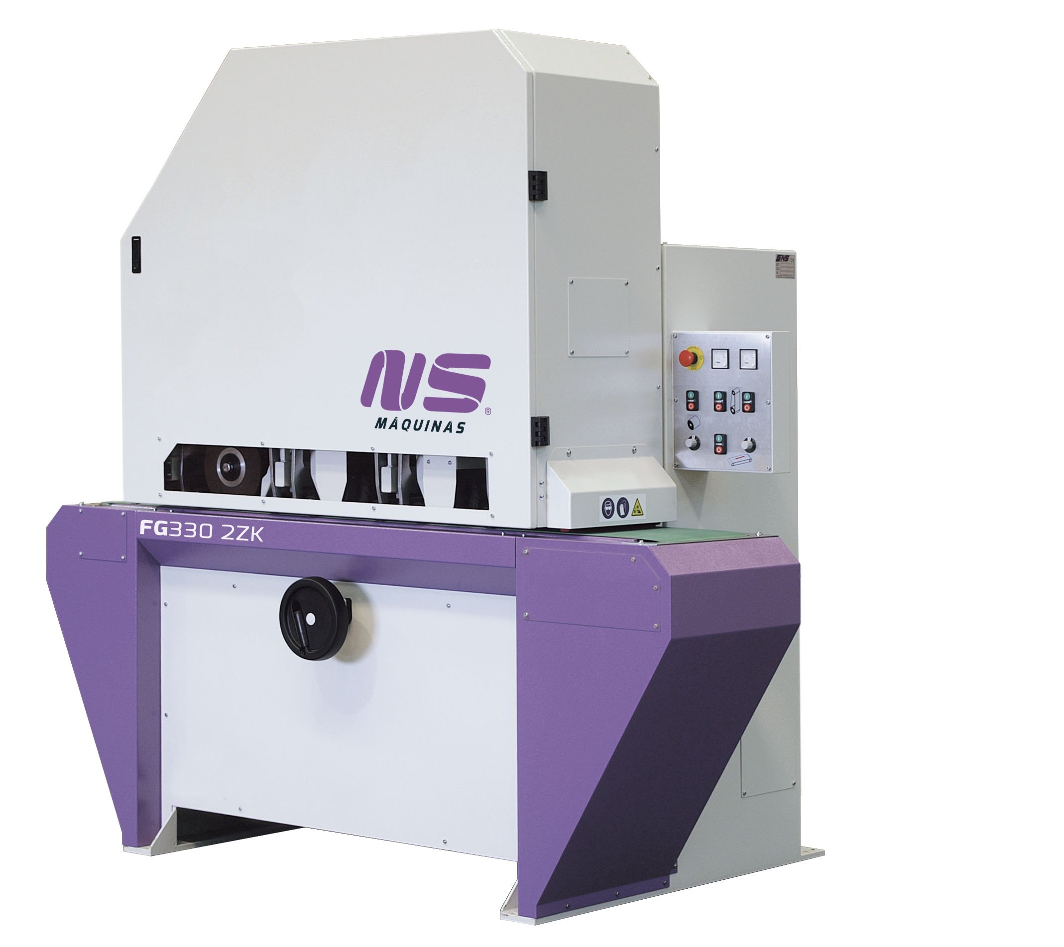 Flat Bar and Rectangular Finishing Machines - FG330