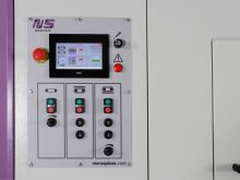 metal deburring machine - Machine Control Panel
