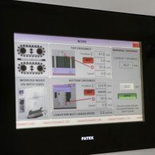 Control Panel Deburring Machine