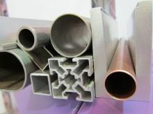 metal profiles deburring machine