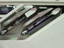 B3 FG220 Square tube finishing machine bottom abrasive belts