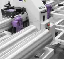 Round Tube Finishing Machine - ML200 máquina esmeriladora de tubo
