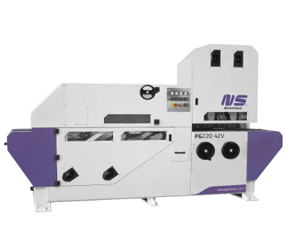 Flat Bar and Rectangular Tube Finishing machines - FG2204ZV