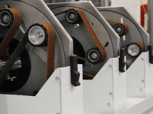 Round tube Finishing Machine - Rohrschleifmaschine - MLW100 Z - img4