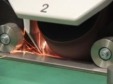 Flat Bar and Rectangular Tube Finishing Machines - TR120
