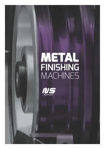 Thick Metal Deburring Machines - DM1100 DC - NS Máquinas